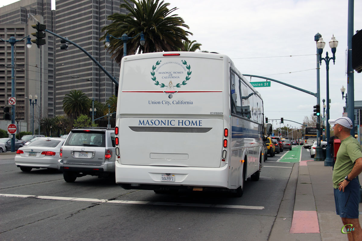 Сан-Франциско. Caio G3400 50455F1