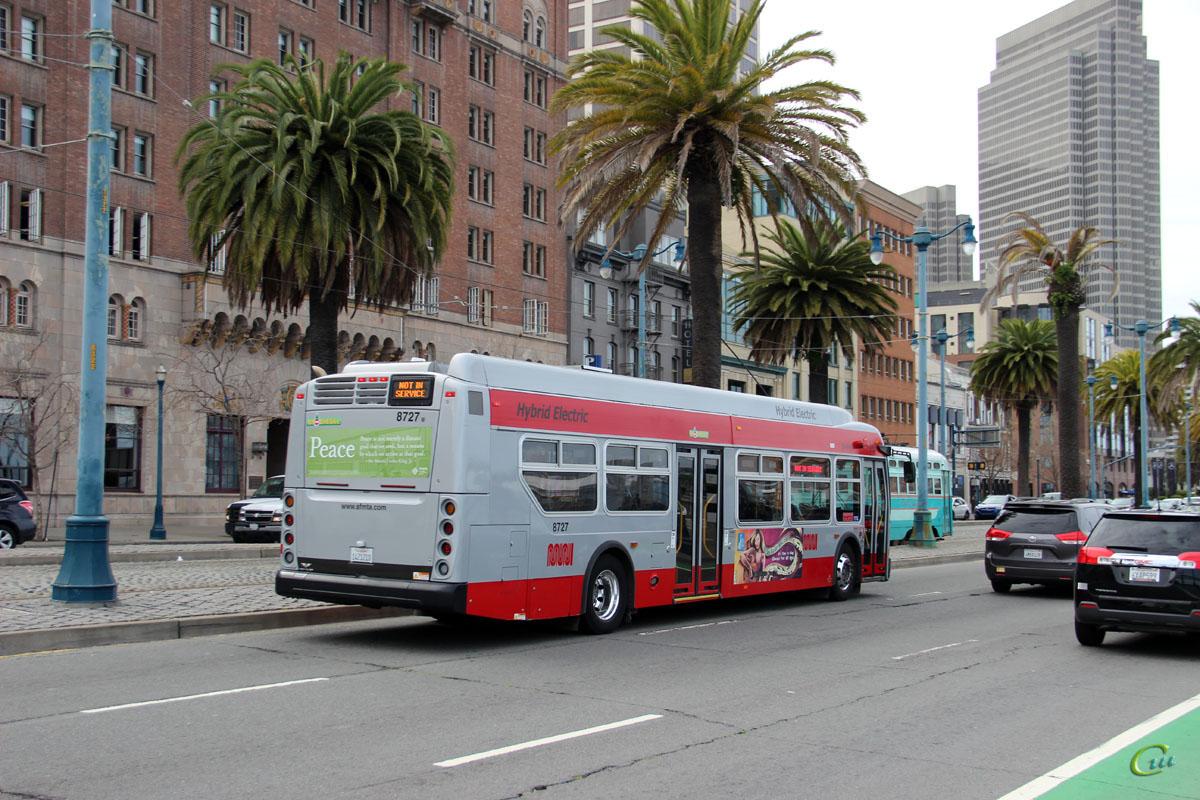 Сан-Франциско. New Flyer XDE40 1421210