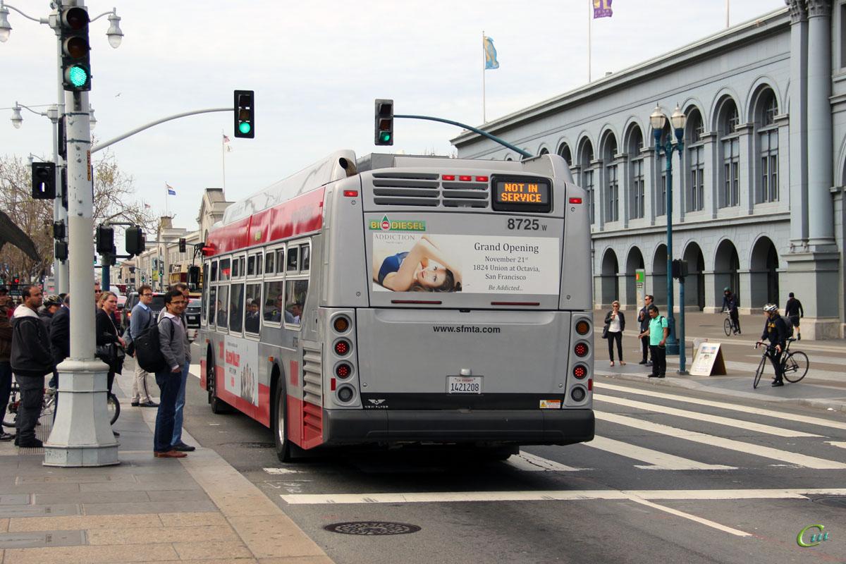 Сан-Франциско. New Flyer XDE40 1421208