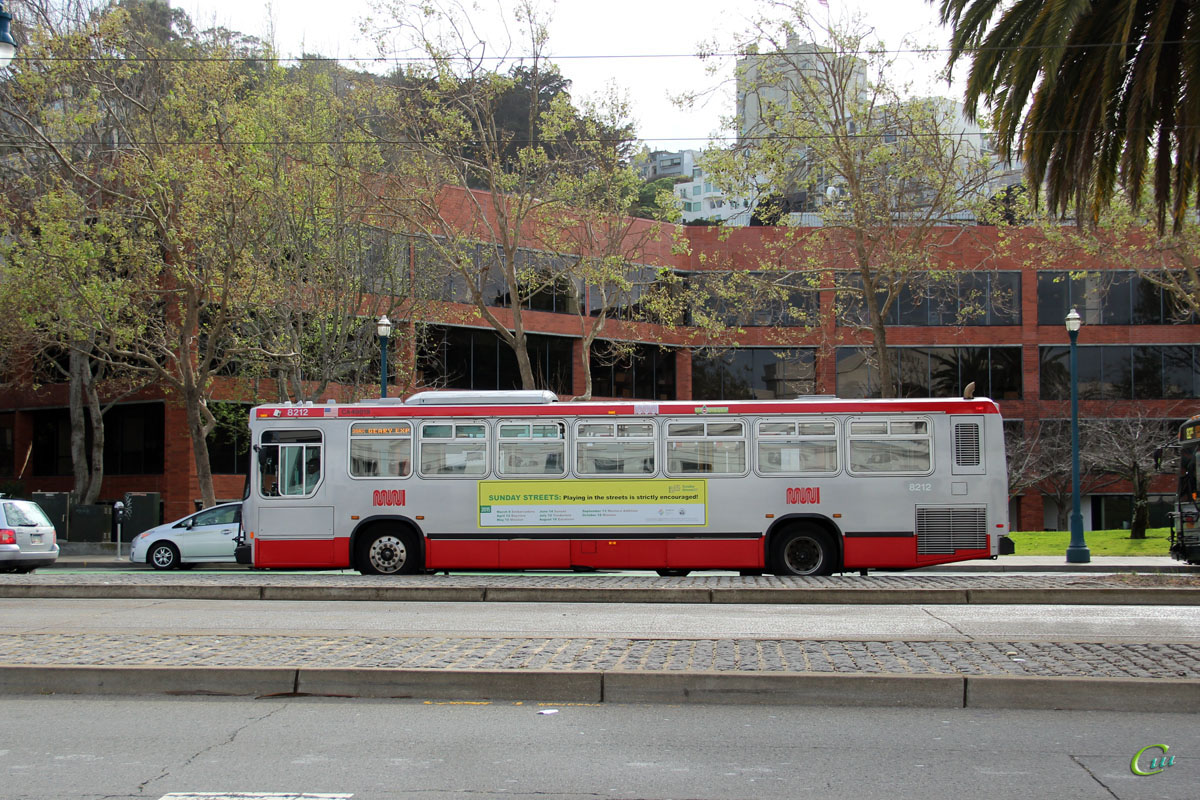Сан-Франциско. Neoplan AN440 1083231
