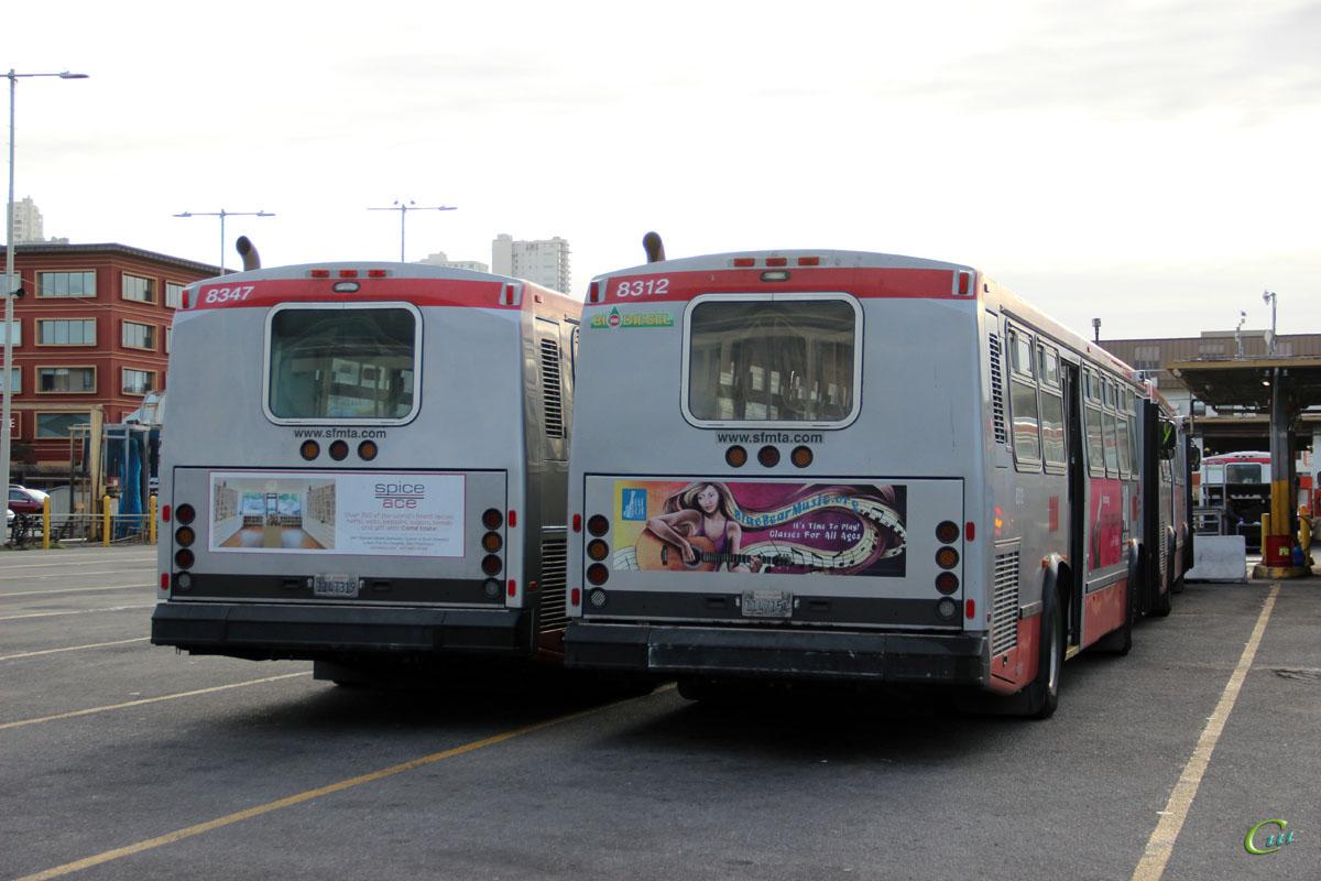Сан-Франциско. Neoplan AN440 1147319, Neoplan AN440 1147154