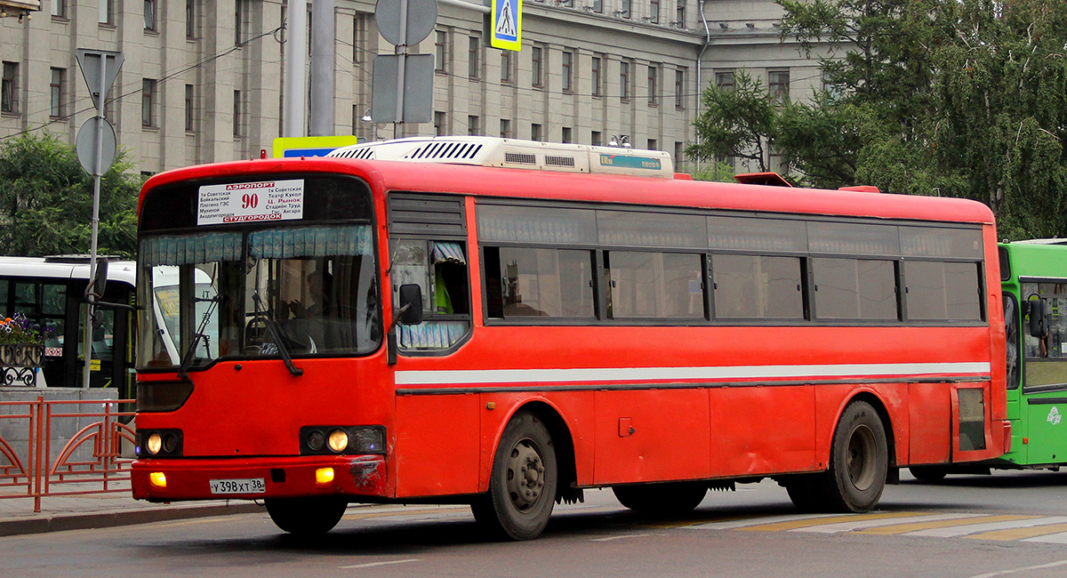 Иркутск. Hyundai AeroCity 540 у398хт