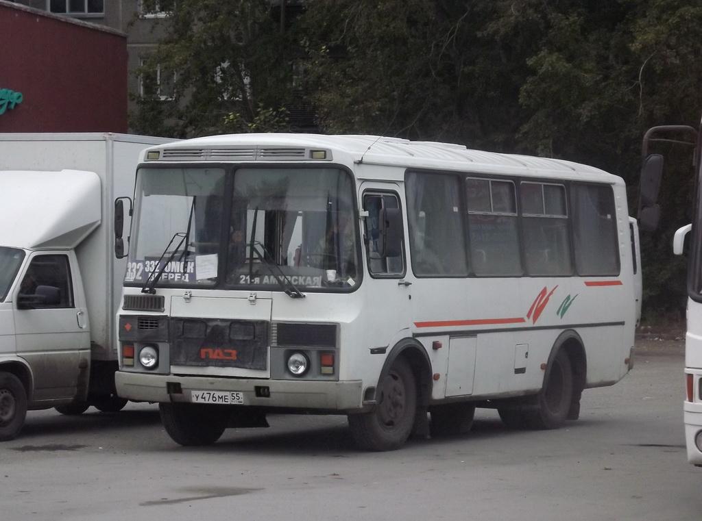 Омск. ПАЗ-32054 у476ме