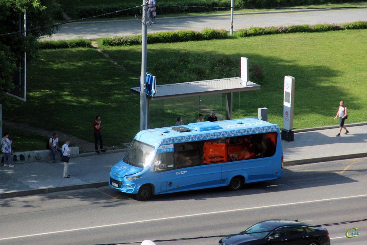Москва. Нижегородец-VSN700 (IVECO Daily) м908те