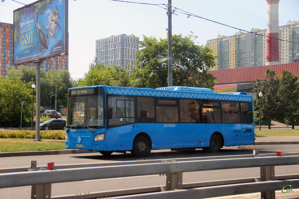 Москва. ЛиАЗ-4292.60 с609кн