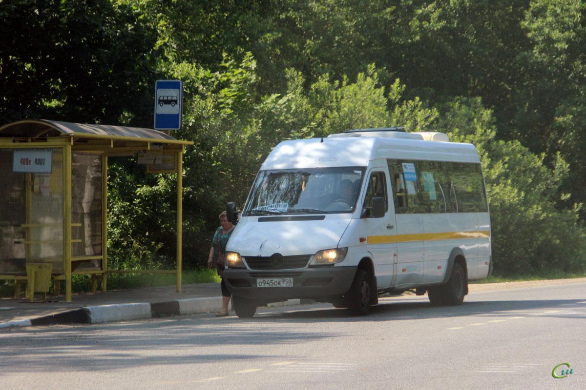 Москва. Луидор-2232DP (Mercedes-Benz Sprinter) о945ок