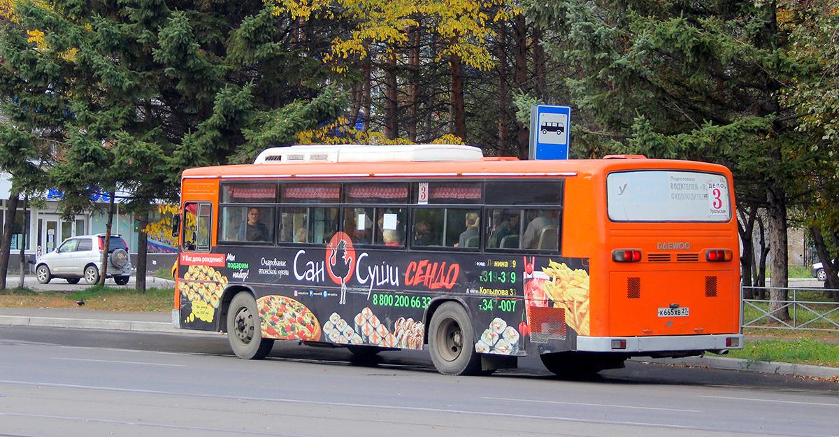 Комсомольск-на-Амуре. Daewoo BS106 к665хв