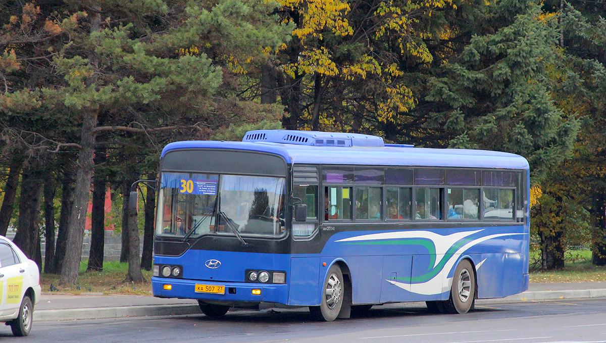 Комсомольск-на-Амуре. Hyundai AeroCity 540 ка507