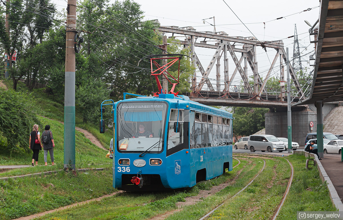 Владивосток. 71-619К (КТМ-19К) №336