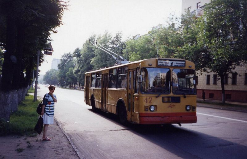 Ярославль. ЗиУ-682Г00 №42