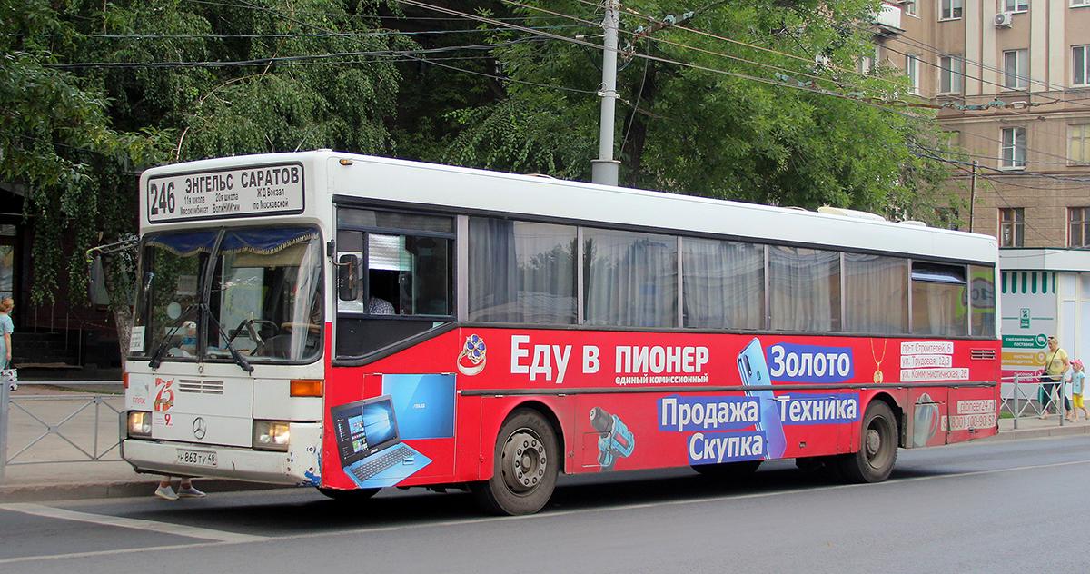 Саратов. Mercedes-Benz O405 н863ту