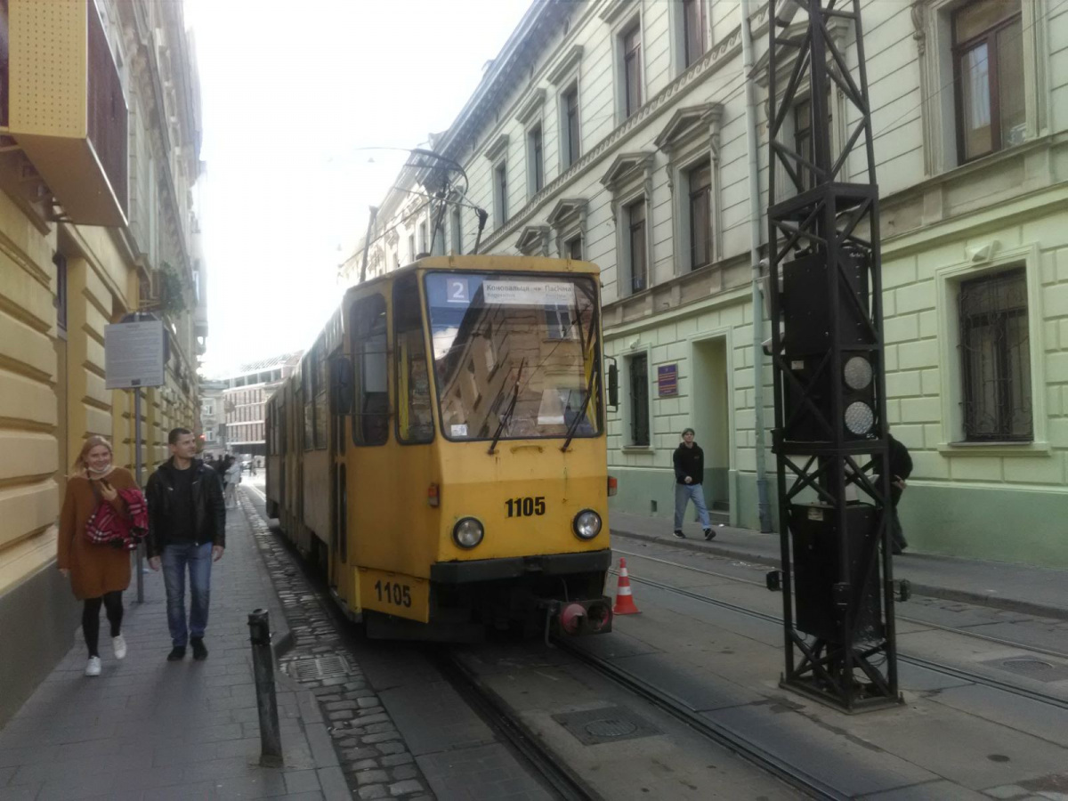 Львов. Tatra KT4SU №1105