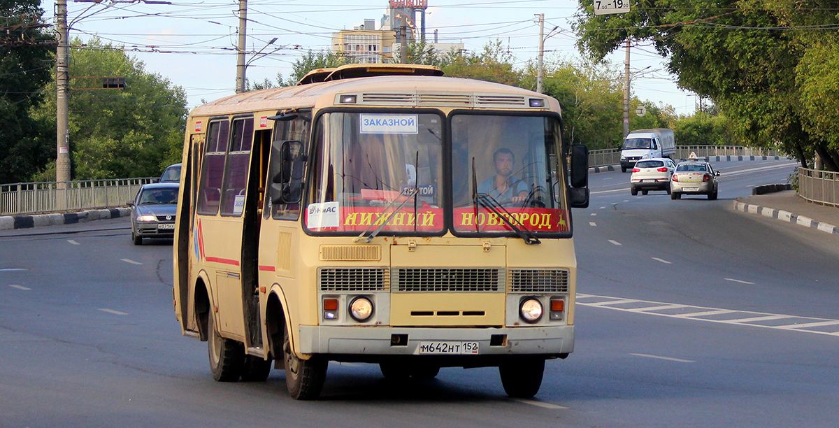 Нижний Новгород. ПАЗ-32054 м642нт
