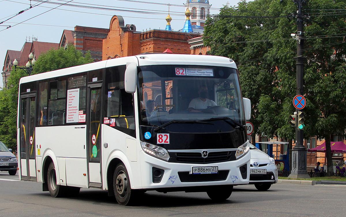 Хабаровск. ПАЗ-320435-04 Vector Next р886мх