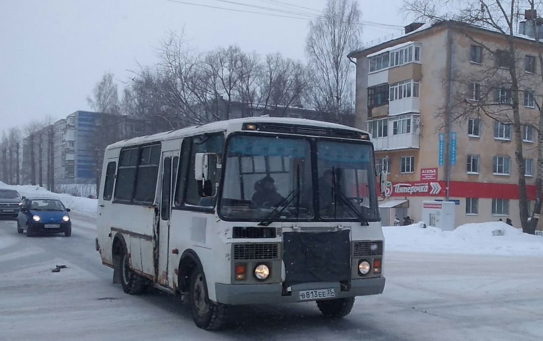 Вологда. ПАЗ-32053 в813ее