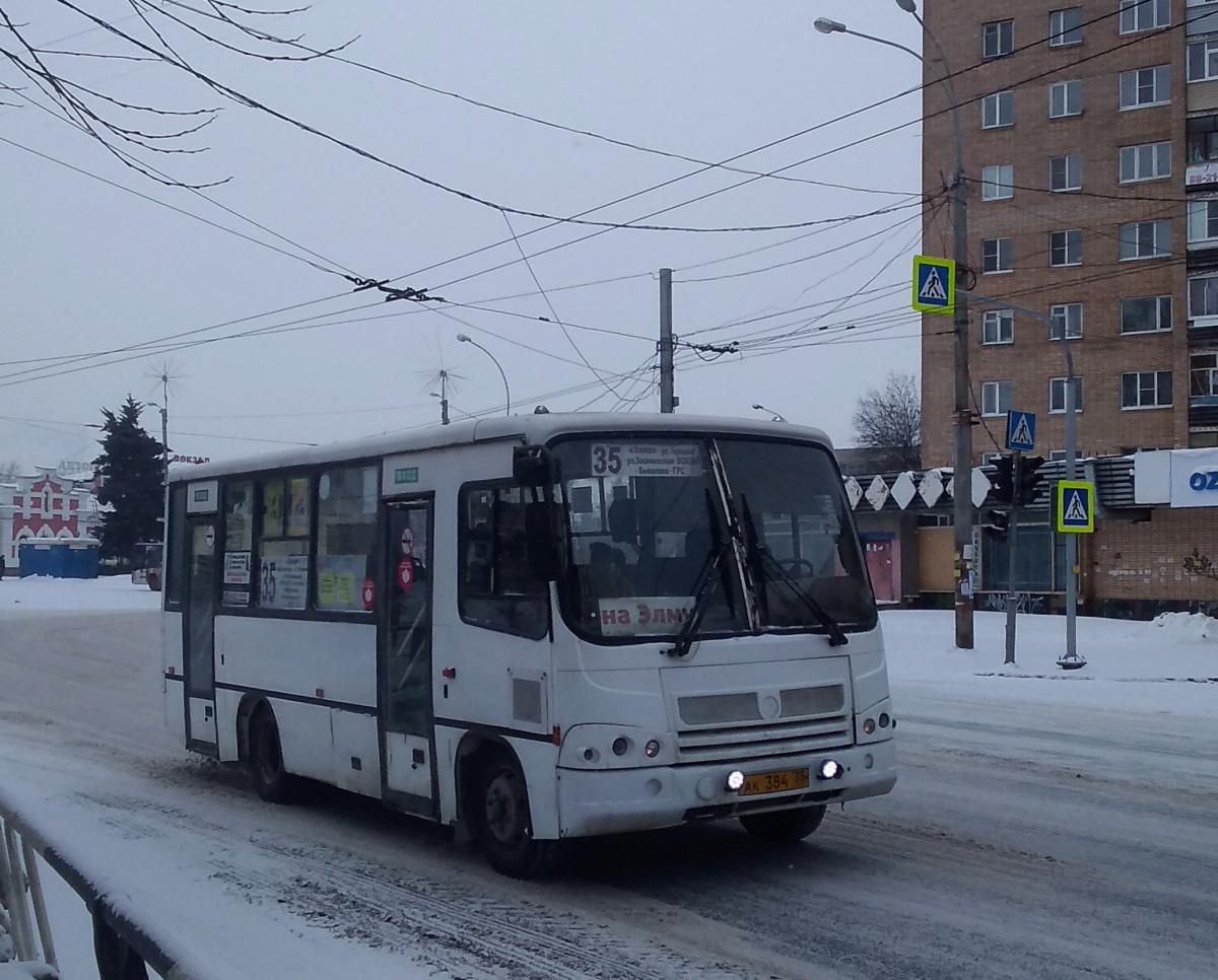 Вологда. ПАЗ-320402-03 ак384
