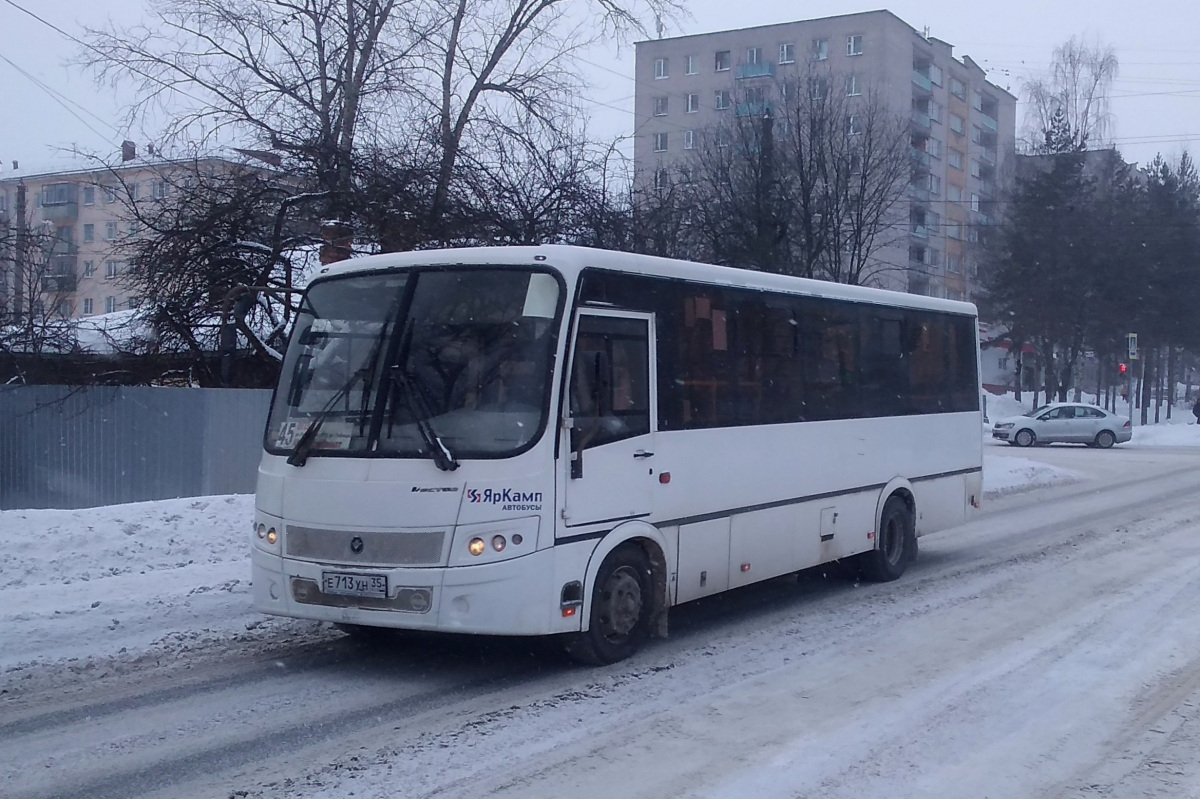 Вологда. ПАЗ-320414-05 Вектор е713ун