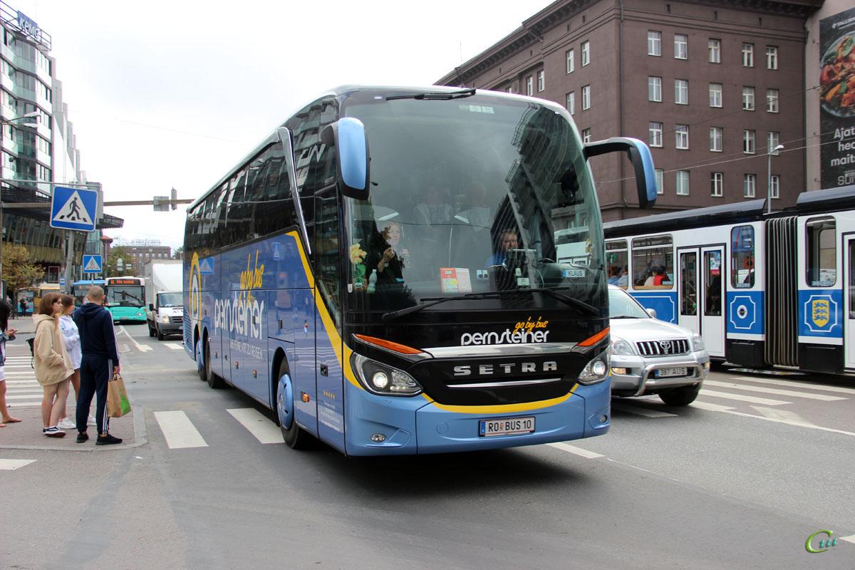 Таллин. Setra S516HDH RO BUS 10