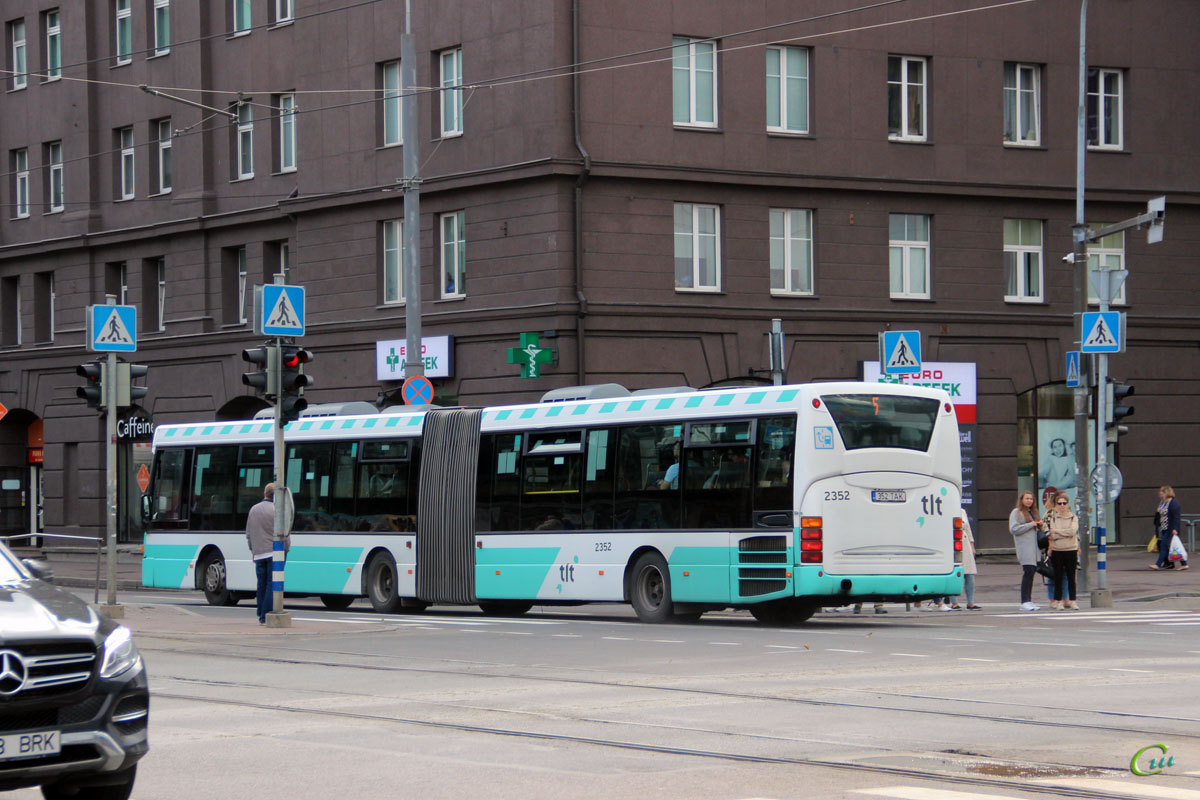 Таллин. Scania OmniLink CL94UA 352 TAK