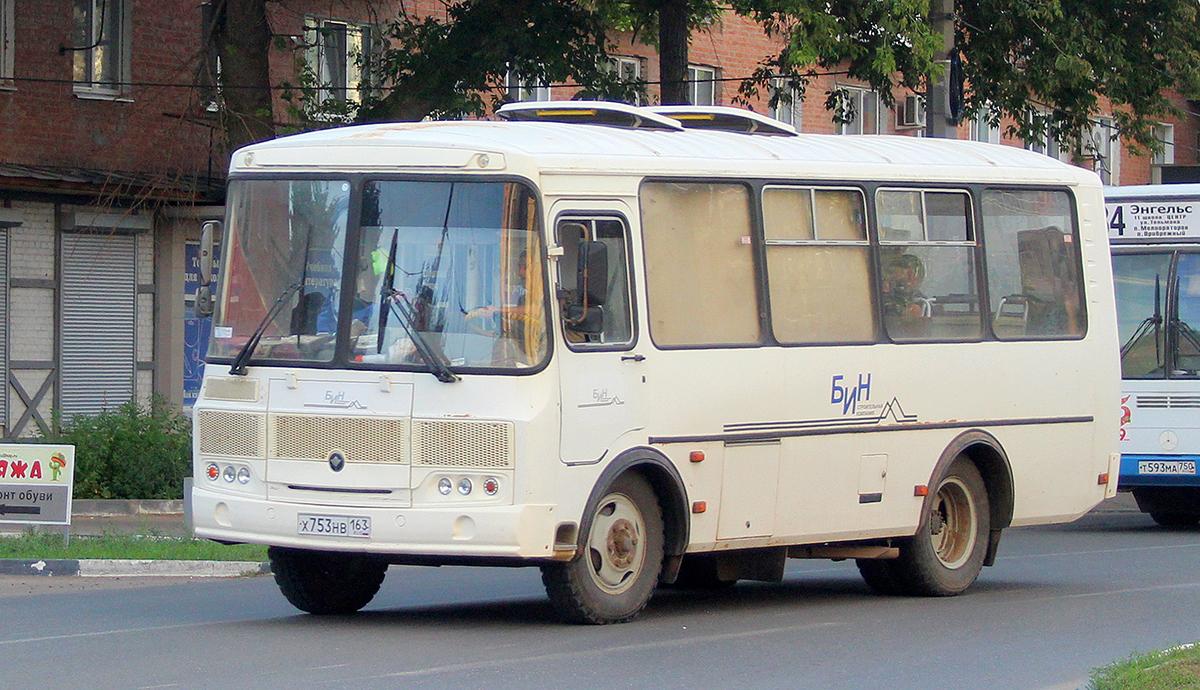 Энгельс. ПАЗ-32053 х753нв