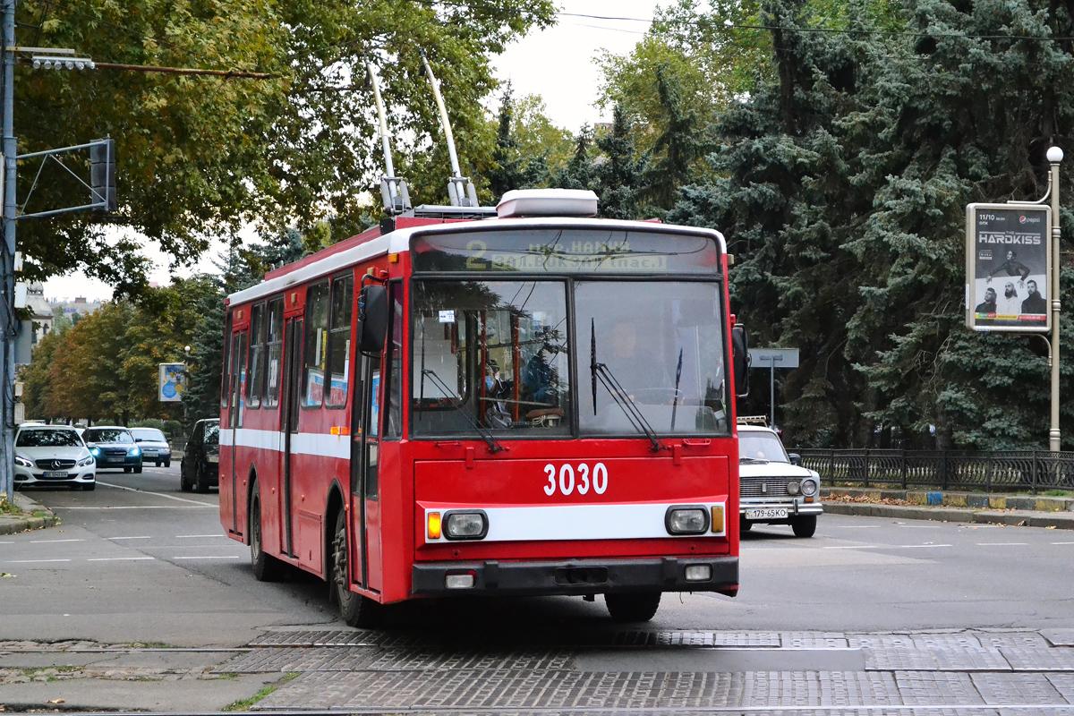 Николаев. Škoda 14TrR №3030