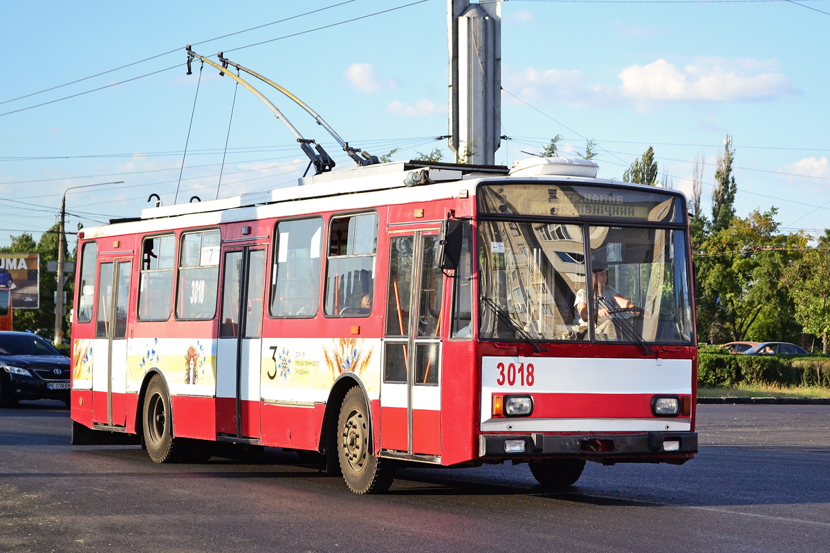 Николаев. Škoda 14TrR №3018