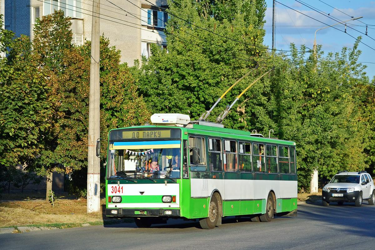 Николаев. Škoda 14TrM №3041