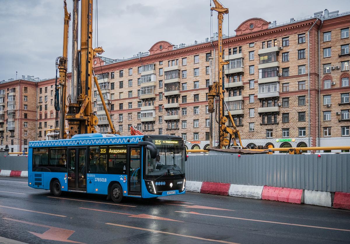 Москва. МАЗ-206.486 н674ке