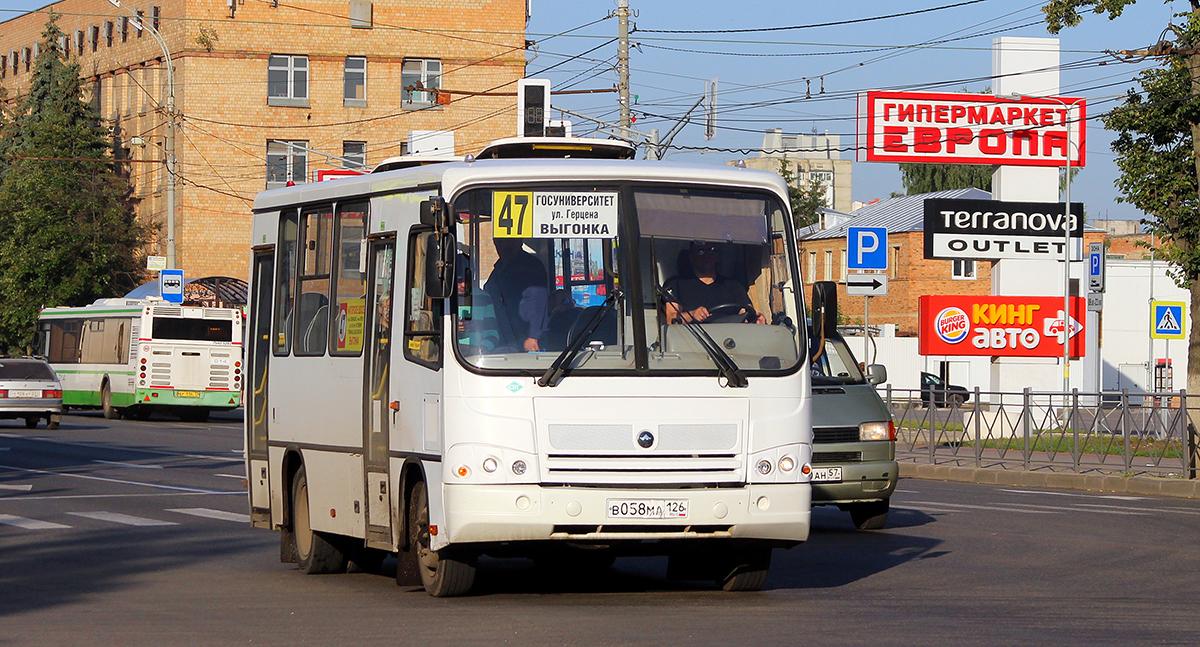 Орёл. ПАЗ-320302-11 в058ма