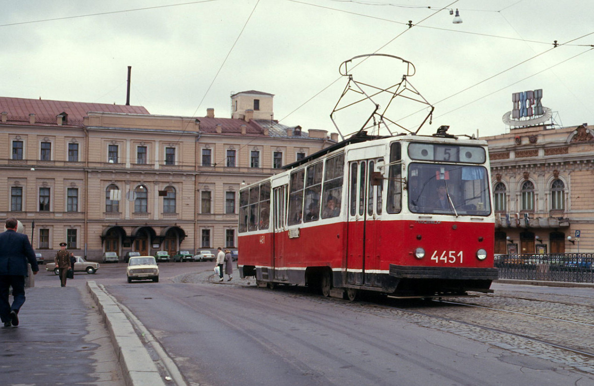 Санкт-Петербург. ЛМ-68М №4451