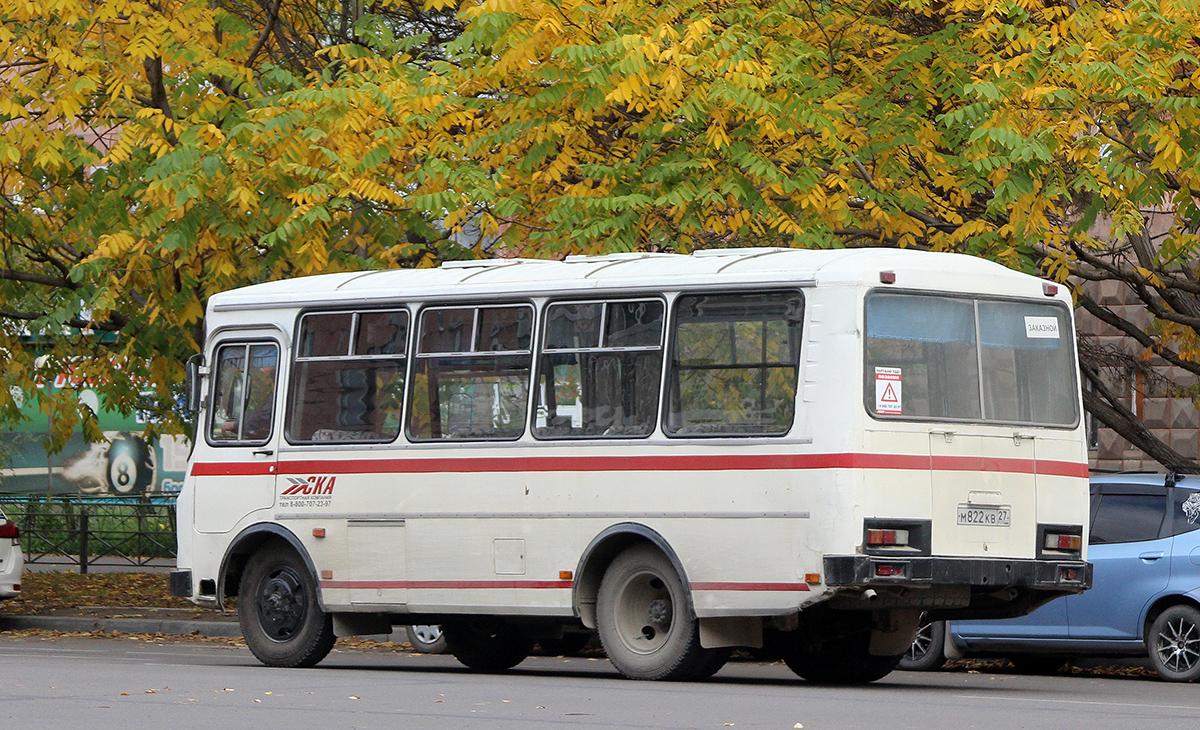 Комсомольск-на-Амуре. ПАЗ-3205-110 м822кв