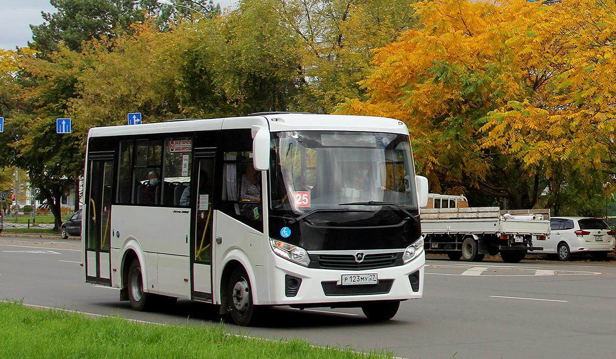 Комсомольск-на-Амуре. ПАЗ-320435-04 Vector Next р123му