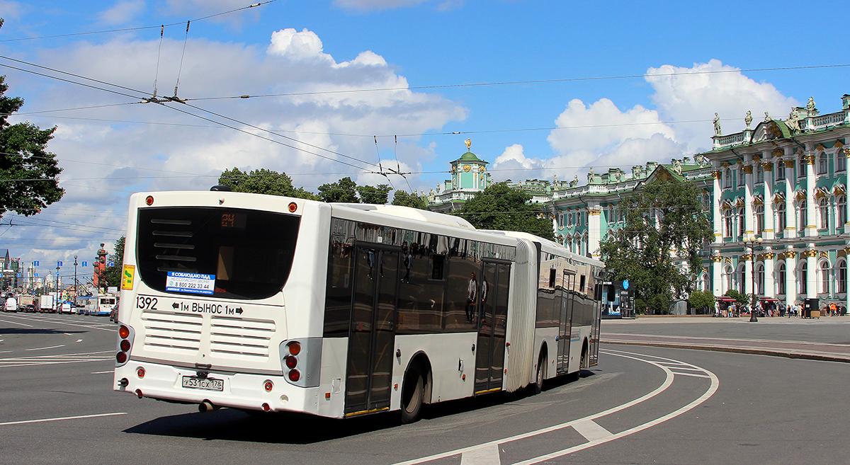 Санкт-Петербург. Volgabus-6271.05 у531сх