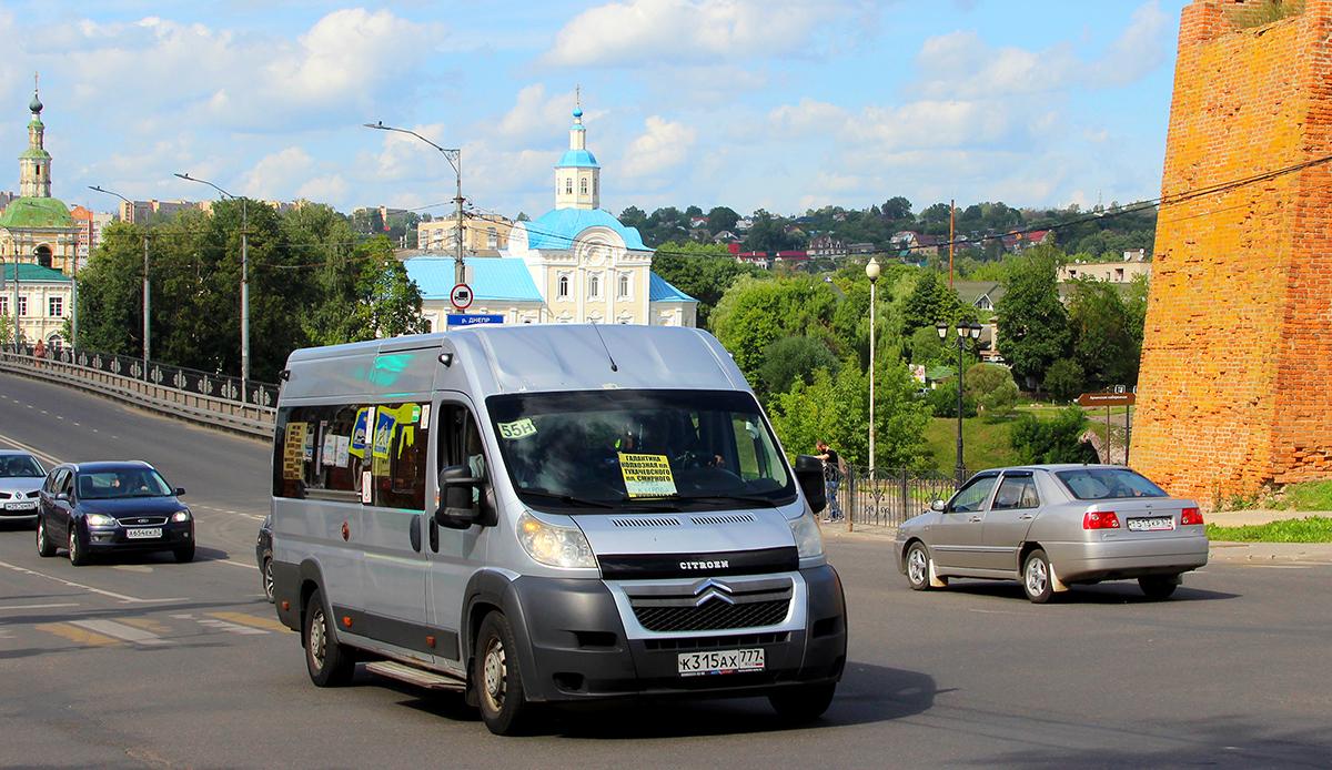 Смоленск. Нижегородец-2227 (Citroёn Jumper) к315ах