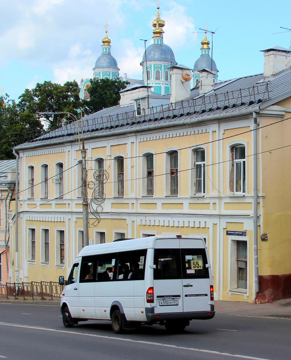 Смоленск. Луидор-223203 (Mercedes-Benz Sprinter) а592ну