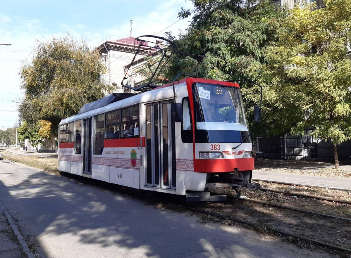 Запорожье. Tatra T3UA-3 №383