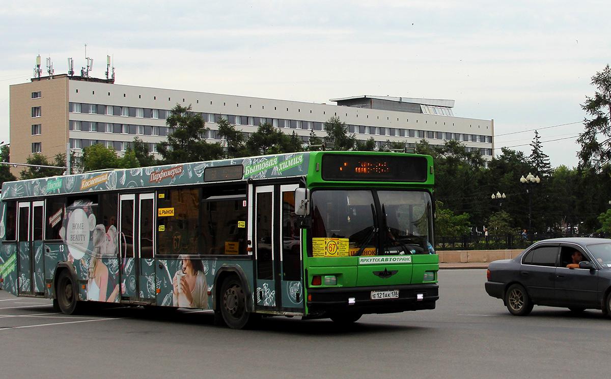 Иркутск. МАЗ-103.065 е121ак