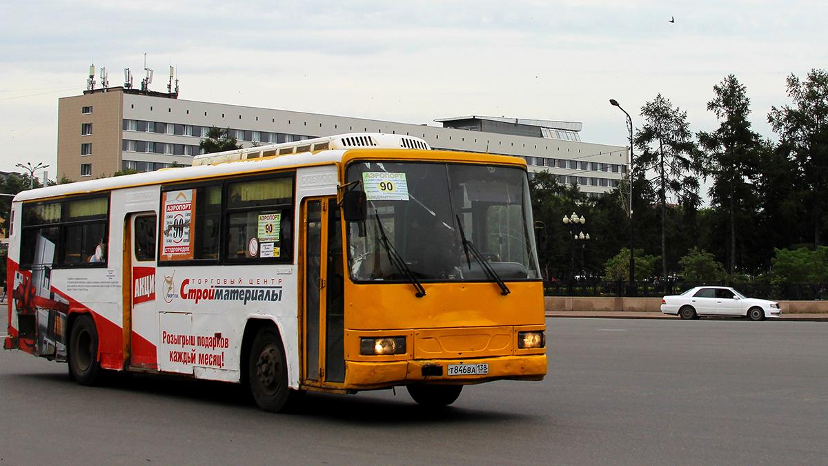 Иркутск. Daewoo BS106 т846ва