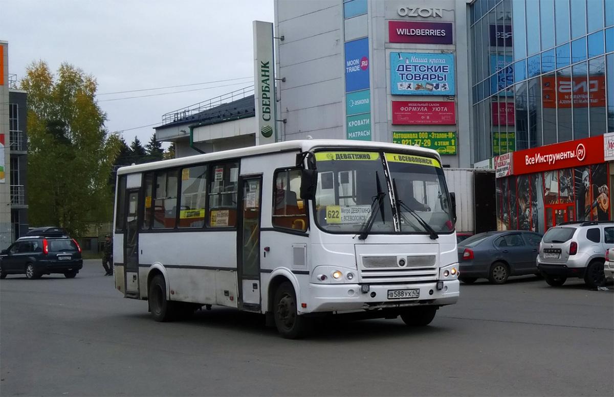 Всеволожск. ПАЗ-320412-05 в588ух
