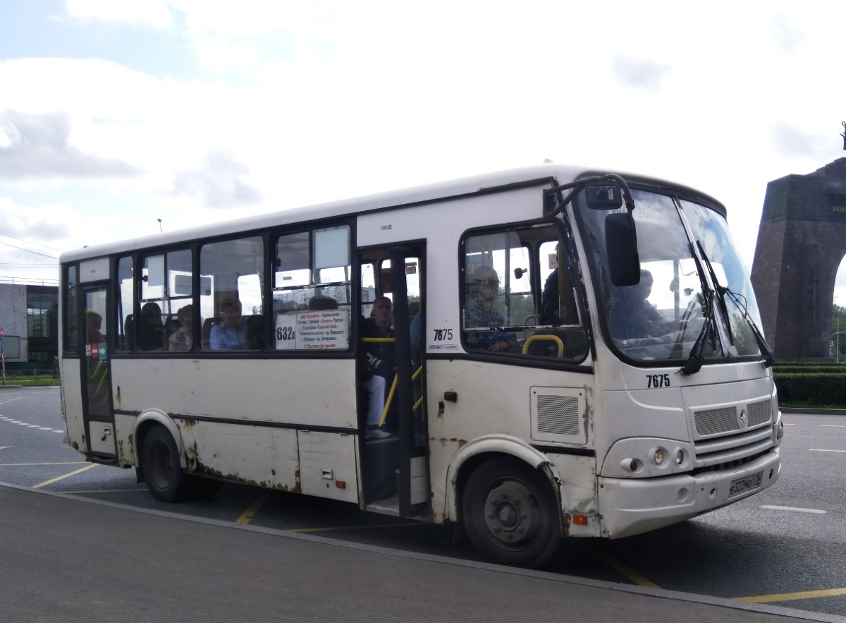 Санкт-Петербург. ПАЗ-320412-05 в322мо