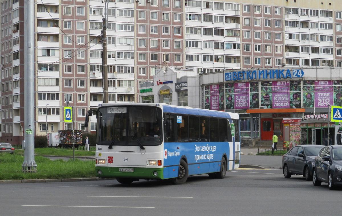 Санкт-Петербург. ЛиАЗ-5293.60 в183он