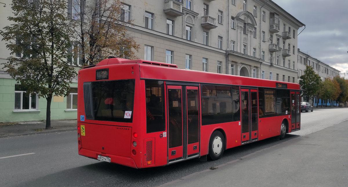 Казань. МАЗ-203.069 а972тк