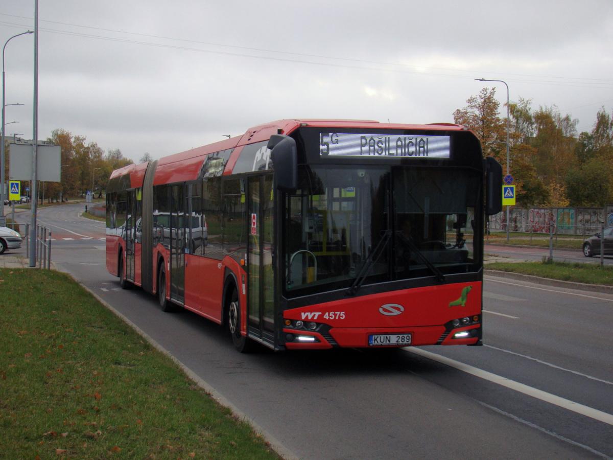 Вильнюс. Solaris Urbino IV 18 KUN 289