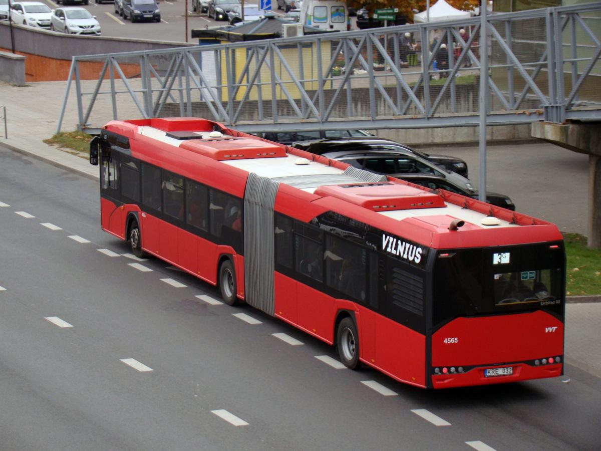 Вильнюс. Solaris Urbino IV 18 KRE 032